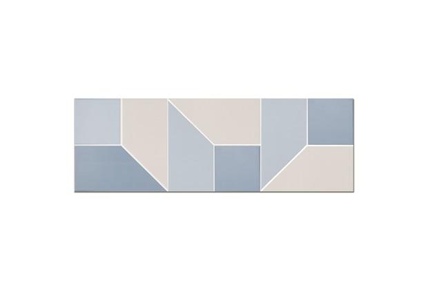 Revestimento Acetinado Borda Reta Maison Look Blue 30x90cm - Eliane