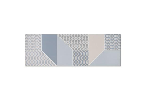Revestimento Acetinado Borda Reta Maison Look Blue Decor 30x90cm - Eliane