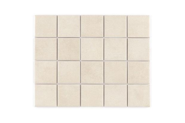 Revestimento Acetinado Borda Reta Munari Branco Mesh 7,5x7,5cm - Eliane