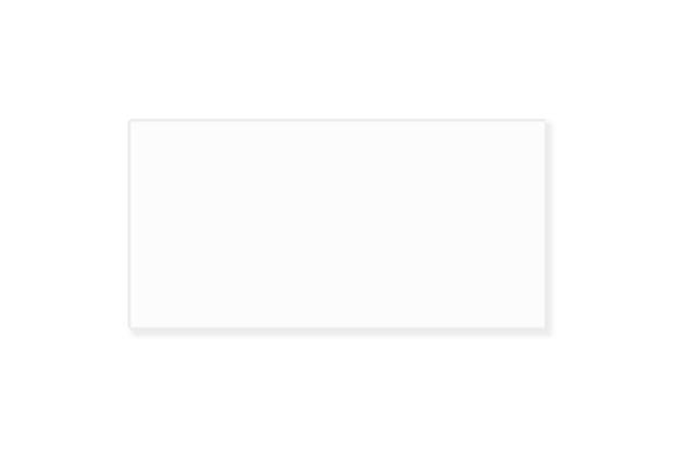 Revestimento Acetinado Borda Reta Natura Branco 38x74cm - Savane