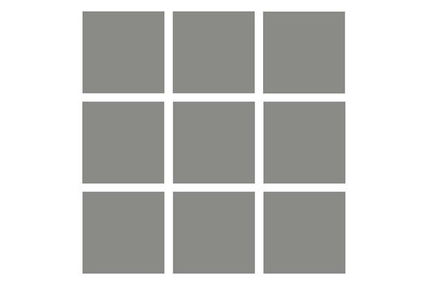Revestimento Acetinado Cinza 10x10cm - Tecnogres