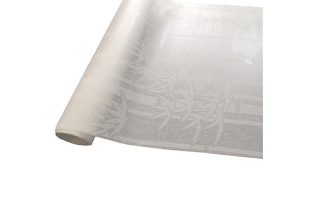 Revestimento Autoadesivo em Rolo Bambu Branco 45cm com 2 Metros - Conthey