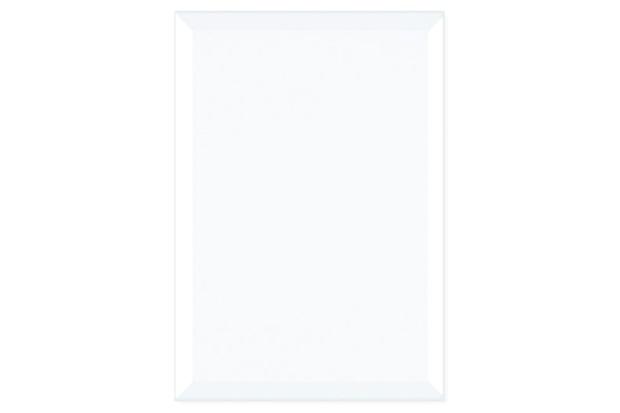 Revestimento Brilhante Borda Bold Bisotado Branco 32x45cm - Formigres