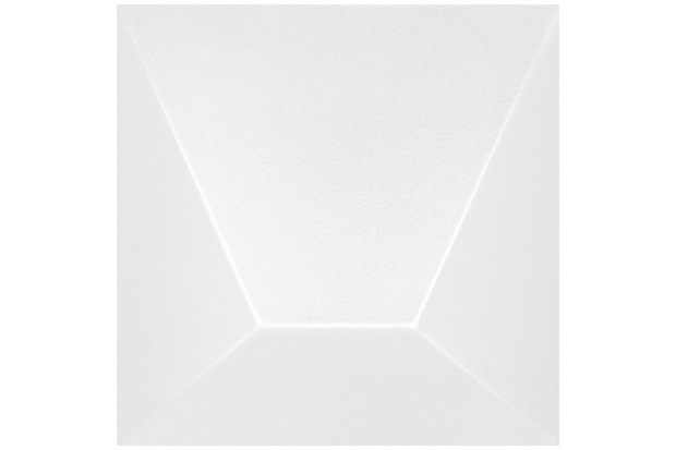 Revestimento Brilhante Borda Bold Block Branco 15,4x15,4cm - Roca