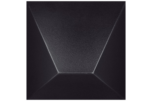 Revestimento Brilhante Borda Bold Block Preto 15,4x15,4cm - Roca