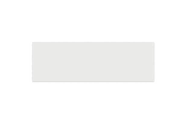 Revestimento Brilhante Borda Bold Decora Lux White 8x25cm - Portinari