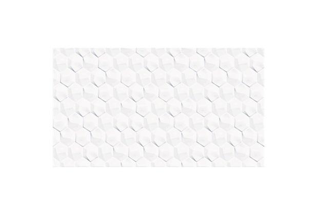 Revestimento Brilhante Borda Bold Zeus White 32x57cm - Cecafi