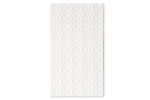 Revestimento Brilhante Borda Reta Stelle Lux Bianco Branco 32x60cm - Biancogres