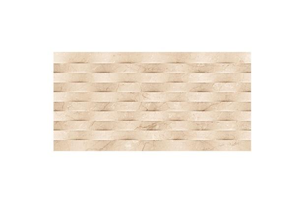 Revestimento Brilhante Retificado Viseu Bege 37x74cm - Cecafi