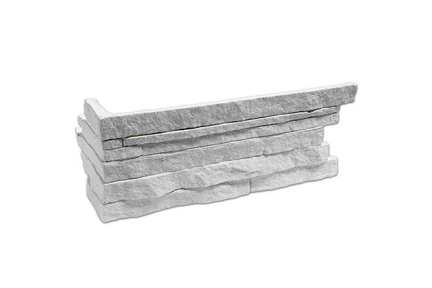 Revestimento Cimentício Steno Puro Finito 39x12,5cm - Passeio