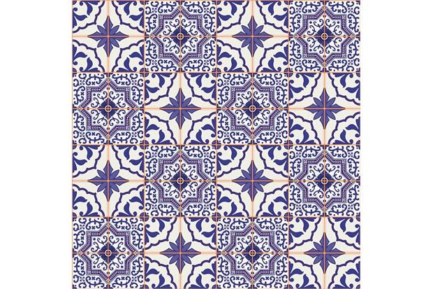 Revestimento Contact Azulejo Português 45x200cm - Plavitec