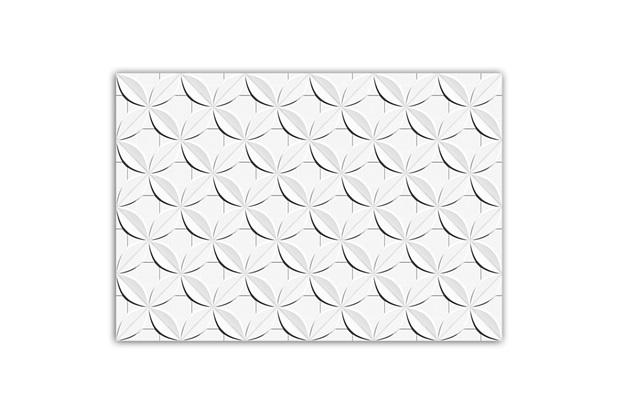 Revestimento Dalia Retificado Esmaltado Branco 43,7x63,1cm - Ceusa