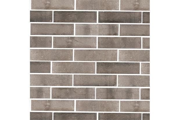 Revestimento Esmaltado Acetinado Borda Bold All Bricks Luton Ash 7x26cm - Portobello