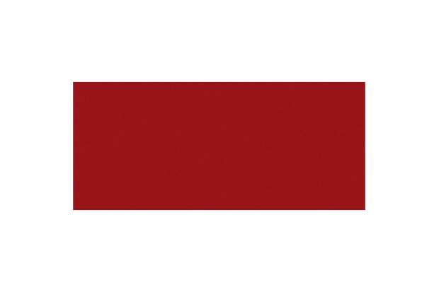 Revestimento Esmaltado Borda Bold Color Retrô Vermelho 11x25cm - Incepa
