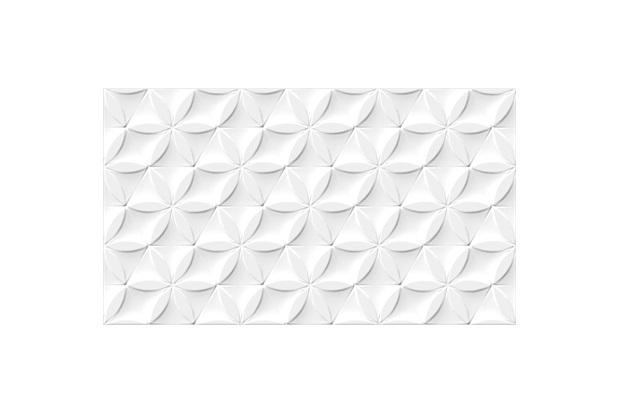 Revestimento Esmaltado Borda Bold Hd Branco 32,5x56,5cm - Incefra