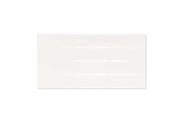 Revestimento Esmaltado Borda Reta Brilhante Azuleja Gap White 30x60cm - Portobello