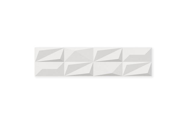 Revestimento Esmaltado Borda Reta Origami Blanc 28x115cm - Savane