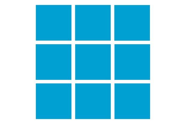 Revestimento Esmaltado Brilhante Azul Claro 10x10cm - Tecnogres