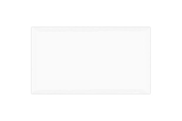 Revestimento Esmaltado Brilhante Borda Bold Arhus Branco 32x57cm - Carmelo Fior