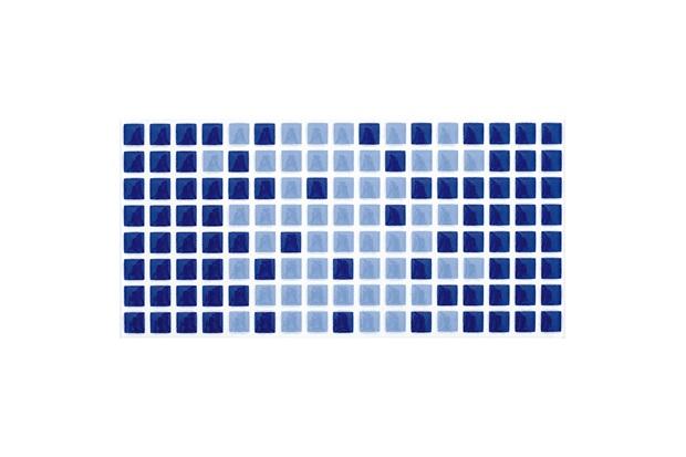 Revestimento Esmaltado Brilhante Borda Bold Arvoredo Azul 10x20cm - Eliane