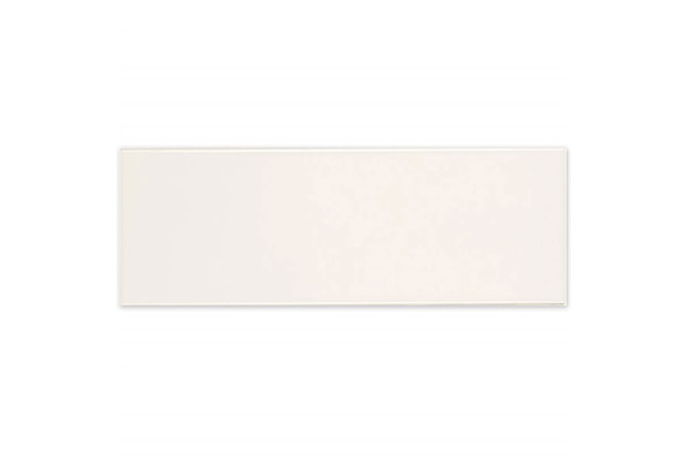 Revestimento Esmaltado Brilhante Borda Bold Chroma Off White Assim Tel 7x26cm - Portobello