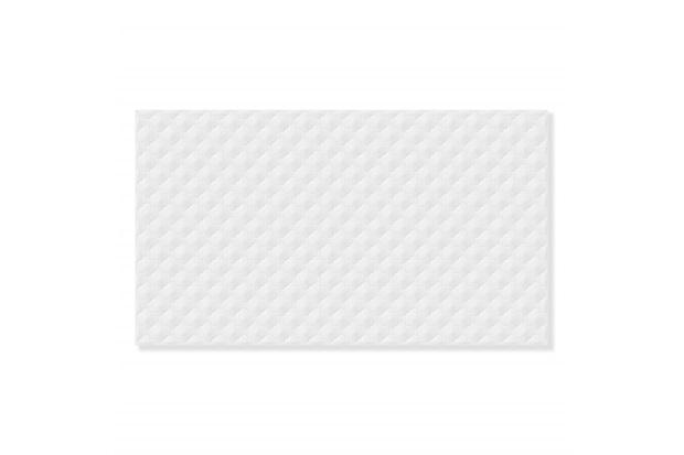 Revestimento Esmaltado Brilhante Borda Bold Hd-36000 Branco 32,5x56,5cm - Incefra