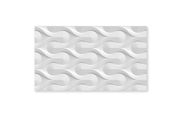 Revestimento Esmaltado Brilhante Borda Bold Hd Branco 32,5x56,5cm - Incefra