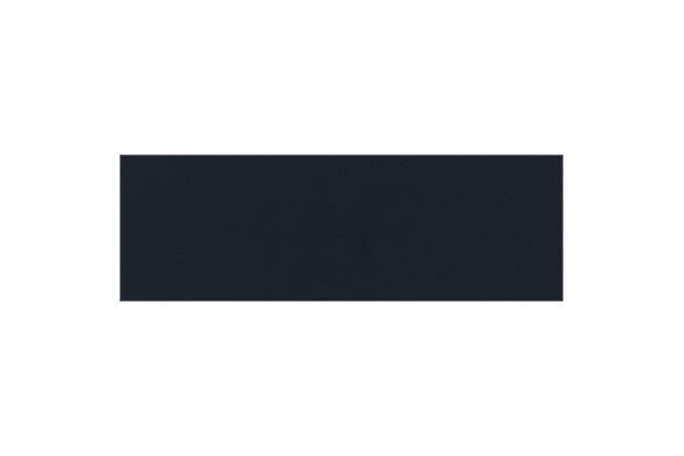 Revestimento Esmaltado Brilhante Borda Bold Linear Midnight Blue 10x30cm - Eliane