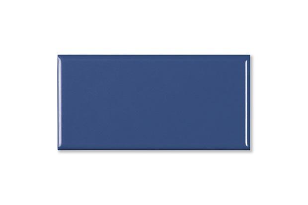 Revestimento Esmaltado Brilhante Borda Bold Paris Bleu Marine Azul 10x20cm - Portobello