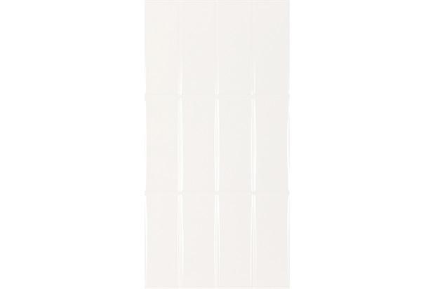 Revestimento Esmaltado Brilhante Borda Reta Azuleja Gap White 30x60cm - Portobello