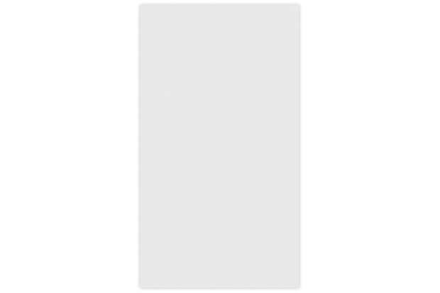 Revestimento Esmaltado Brilhante Borda Reta Design Branco 32x56cm - Incefra