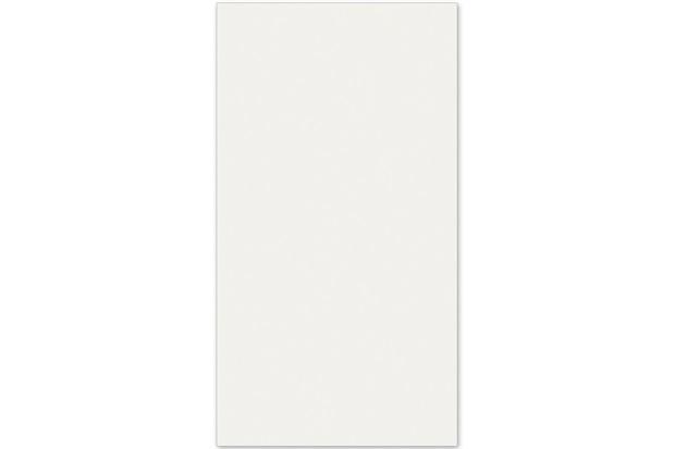 Revestimento Esmaltado Brilhante Borda Reta Real Branco 31x58cm - Casanova