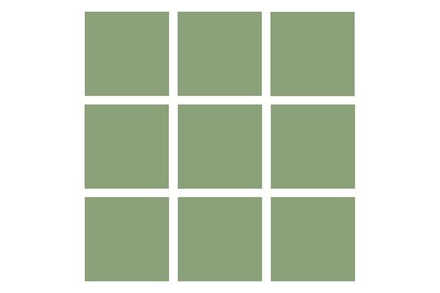 Revestimento Esmaltado Brilhante Verde Claro 10x10cm - Tecnogres