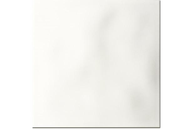 Revestimento Esmaltado Fosco Borda Bold Rima Matte White 20x20cm - Portinari