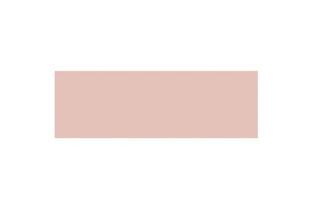 Revestimento Esmaltado Mate Borda Bold Linear Rose 10x30cm - Eliane