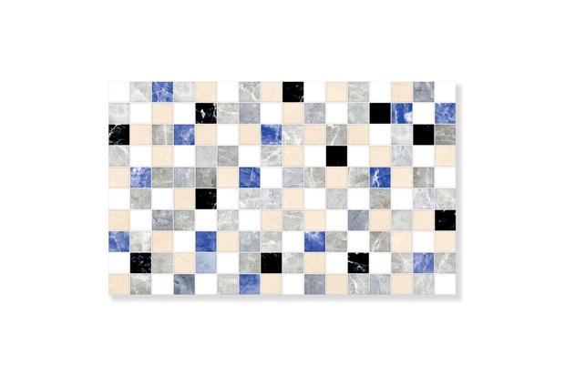 Revestimento Hd Brilhante Borda Bold Aquarela Azul 35x57cm - Formigres