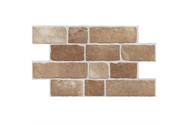 Revestimento Hd Fosco Borda Bold Camel Bricks Terra 54x31cm - Savane