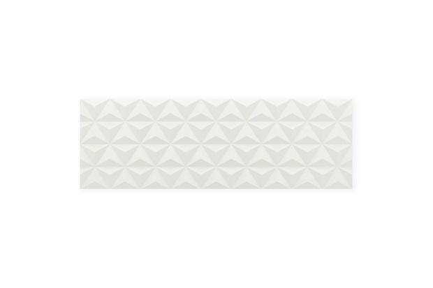 Revestimento Lux Borda Reta Evidence Diamante White 29,1x87,7cm - Portinari