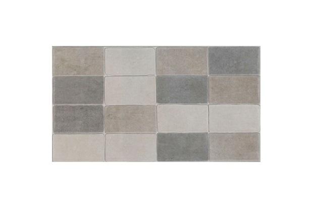 Revestimento Minibrick Retificado Mate Cinza 32,5x59 - Eliane
