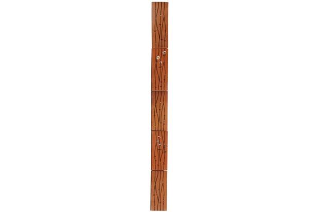 Revestimento Painel Vertical Floral 12x11,5cm Kit - Fênix