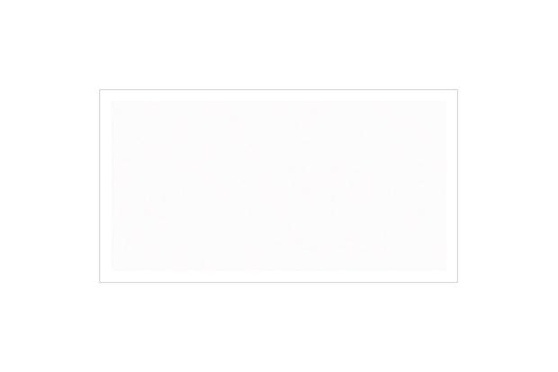 Revestimento Polido Borda Reta Branco Neve 37x74cm - Cecafi