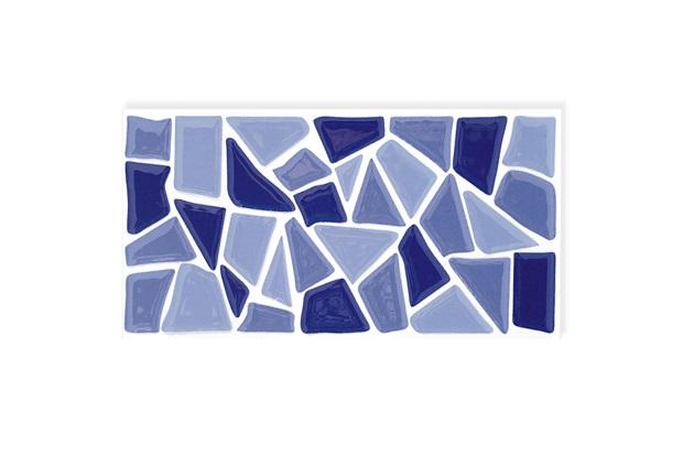 Revestimento Salvador Esmaltado Brilhante Azul 10x20cm - Eliane