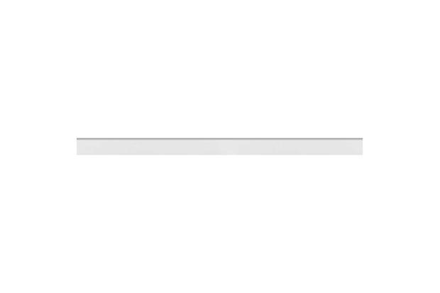Rodapé Acetinado Borda Bold Branco 7x118,2cm - Eliane