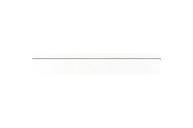 Rodapé Aspen Polido Branco 10x60cm - Portobello