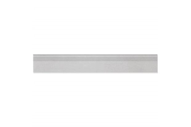 Rodapé de Porcelanato Esmaltado Acetinado Borda Reta Munari Cimento 14,5x90cm - Eliane