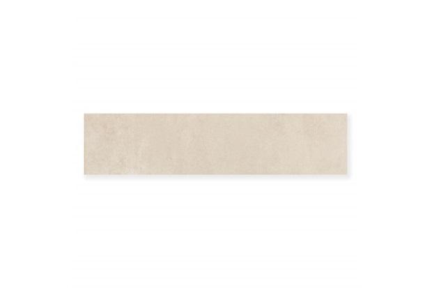 Rodapé de Porcelanato Polido Borda Reta Artsy Cement 15x60cm - Portobello