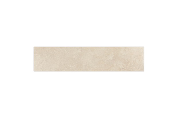 Rodapé de Porcelanato Polido Marmi Classico Avorio Di Brescia 20x90cm - Portobello