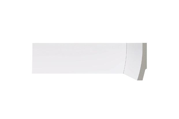 Rodapé em Poliestireno Renova 1,7x7x220cm Branco - Bellitas