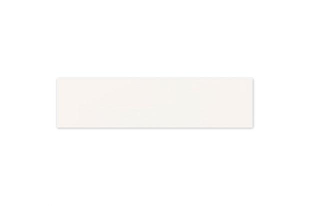 Rodapé Esmaltado Borda Bold Cetim Bianco 15x60cm - Portobello