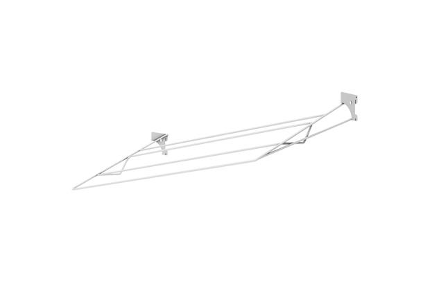 Sapateira de Aramado para Closet Branca 80x45cm - Ordenare